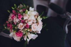 Beautiful wedding bridal bouquet. Stock Image