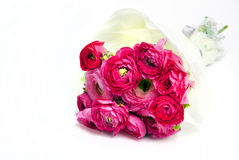 Beautiful wedding butet Ranunculus Stock Photo