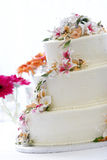 Beautiful wedding cake Royalty Free Stock Photography