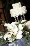 Beautiful wedding cake Royalty Free Stock Image