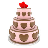 Beautiful wedding cake Stock Photo