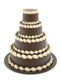 Beautiful wedding cake royalty free illustration
