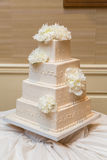 Beautiful Wedding cake Stock Photography