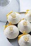 Beautiful wedding cake Stock Images