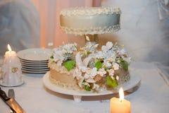 Beautiful wedding cake Royalty Free Stock Image