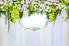 Beautiful in Wedding ceremony Stock Image