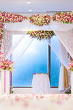 Beautiful wedding ceremony Stock Image
