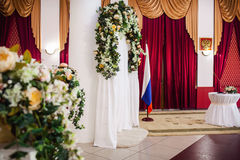 Beautiful wedding ceremony Royalty Free Stock Images