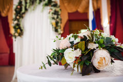 Beautiful wedding ceremony Royalty Free Stock Image
