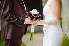 Beautiful wedding ceremony Royalty Free Stock Photos
