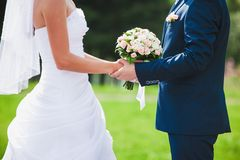 Beautiful wedding ceremony Stock Images