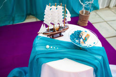 beautiful wedding ceremony Stock Images