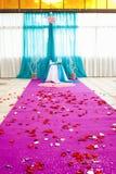 Beautiful wedding ceremony Royalty Free Stock Photos