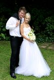 Beautiful Wedding Couple Royalty Free Stock Photos