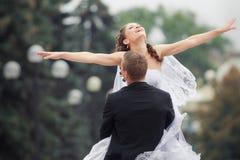 Beautiful wedding couple royalty free stock photos