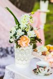 Beautiful wedding decorations Royalty Free Stock Photo