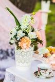 Beautiful wedding decorations Royalty Free Stock Photo