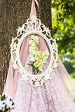 Beautiful wedding decorations Royalty Free Stock Photography