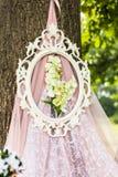 Beautiful wedding decorations Royalty Free Stock Photography