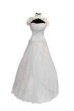 Beautiful wedding dress Royalty Free Stock Photos