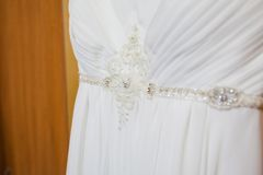 Beautiful wedding dress Royalty Free Stock Photography