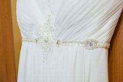 Beautiful wedding dress Stock Image