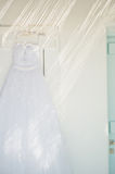 Beautiful wedding dress Stock Photo