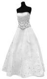 Beautiful wedding dress Royalty Free Stock Photography