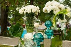 Beautiful wedding floristry. Stock Images