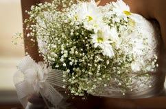 Beautiful wedding flower bouquet Stock Images