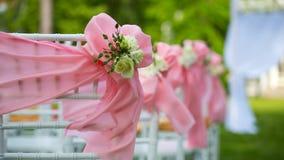 Beautiful wedding flower decorations Royalty Free Stock Photos