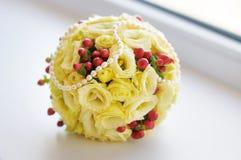 Beautiful wedding flowers bouquet Stock Photos