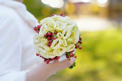 Beautiful wedding flowers bouquet Stock Photos