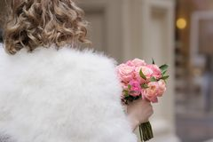 Beautiful wedding flowers bouquet Stock Photography