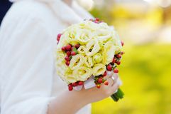 Beautiful wedding flowers bouquet Royalty Free Stock Images