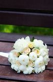 Beautiful wedding flowers bouquet Royalty Free Stock Image