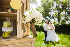 Beautiful wedding flowers Royalty Free Stock Photography