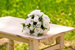 Beautiful wedding flowers Stock Photo