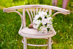 Beautiful wedding flowers Royalty Free Stock Photos