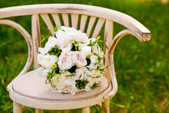 Beautiful wedding flowers Stock Image