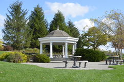 Beautiful Wedding Gazebo Stock Images