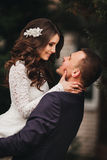 Beautiful wedding, husband and wife, lovers man Stock Image