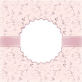 Beautiful wedding invitation Royalty Free Stock Image