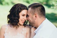 Beautiful wedding in nature. Royalty Free Stock Photo