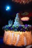 Beautiful wedding reception Stock Images