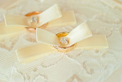 Beautiful wedding ring Stock Image