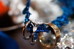 Beautiful Wedding Rings Stock Photo