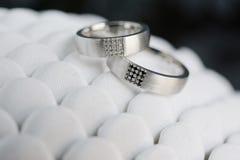 Beautiful wedding rings Royalty Free Stock Images
