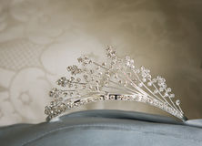 Beautiful wedding tiara Royalty Free Stock Image