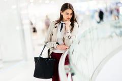 Beautiful businesswoman posing Royalty Free Stock Images